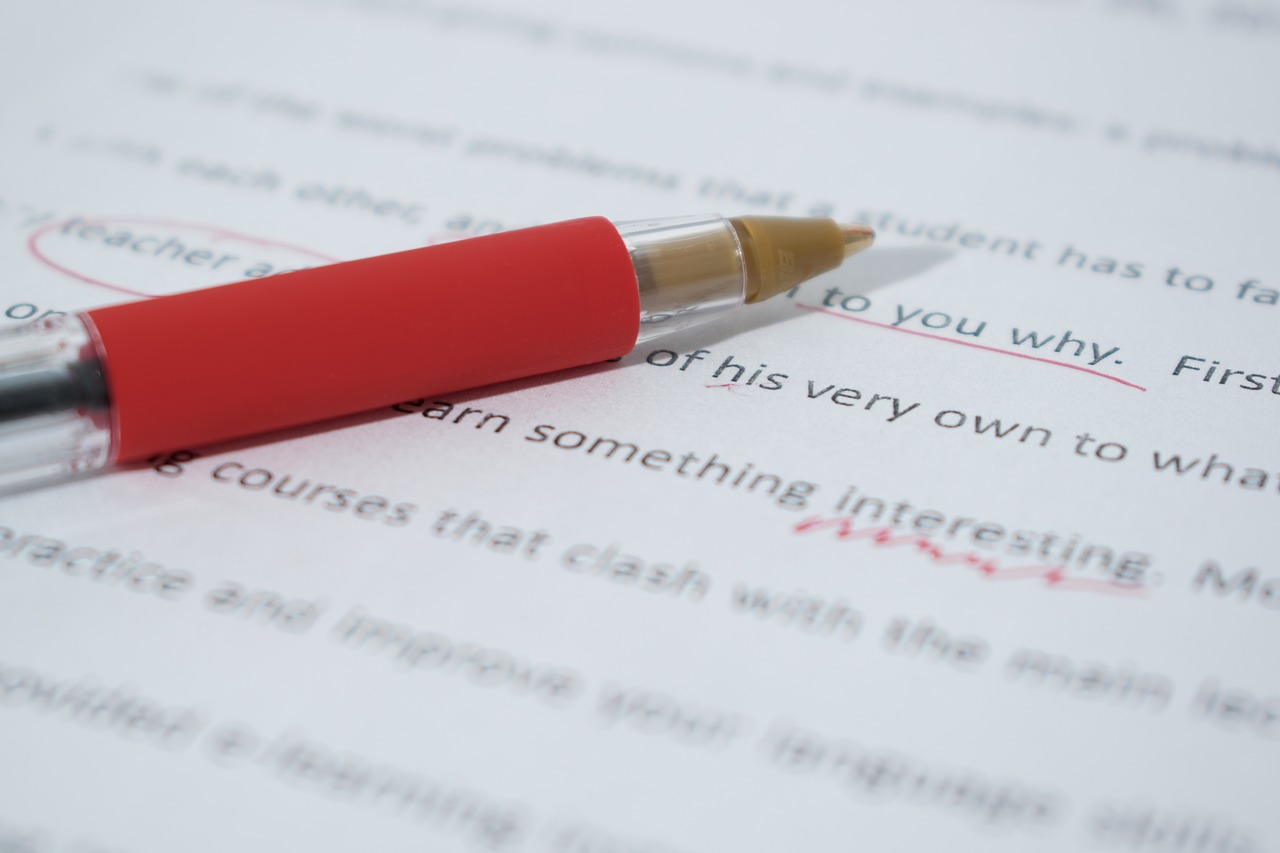 content writing proofreading